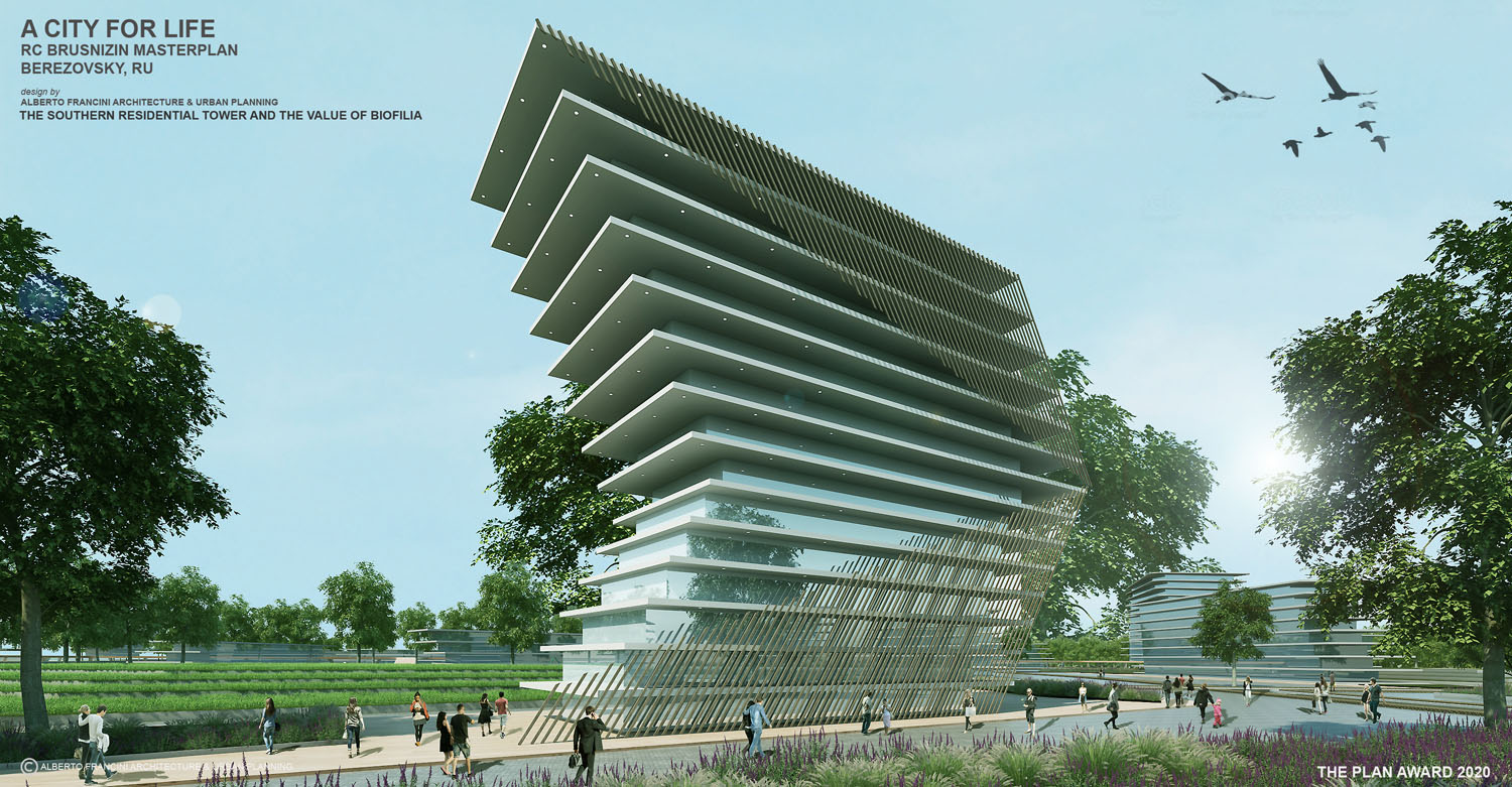 THE SOUTHERN RESIDENTIAL TOWER AND THE VALUE OF BIOFILIA ALBERTO FRANCINI ARCHITECTURE & URBANPLANNING