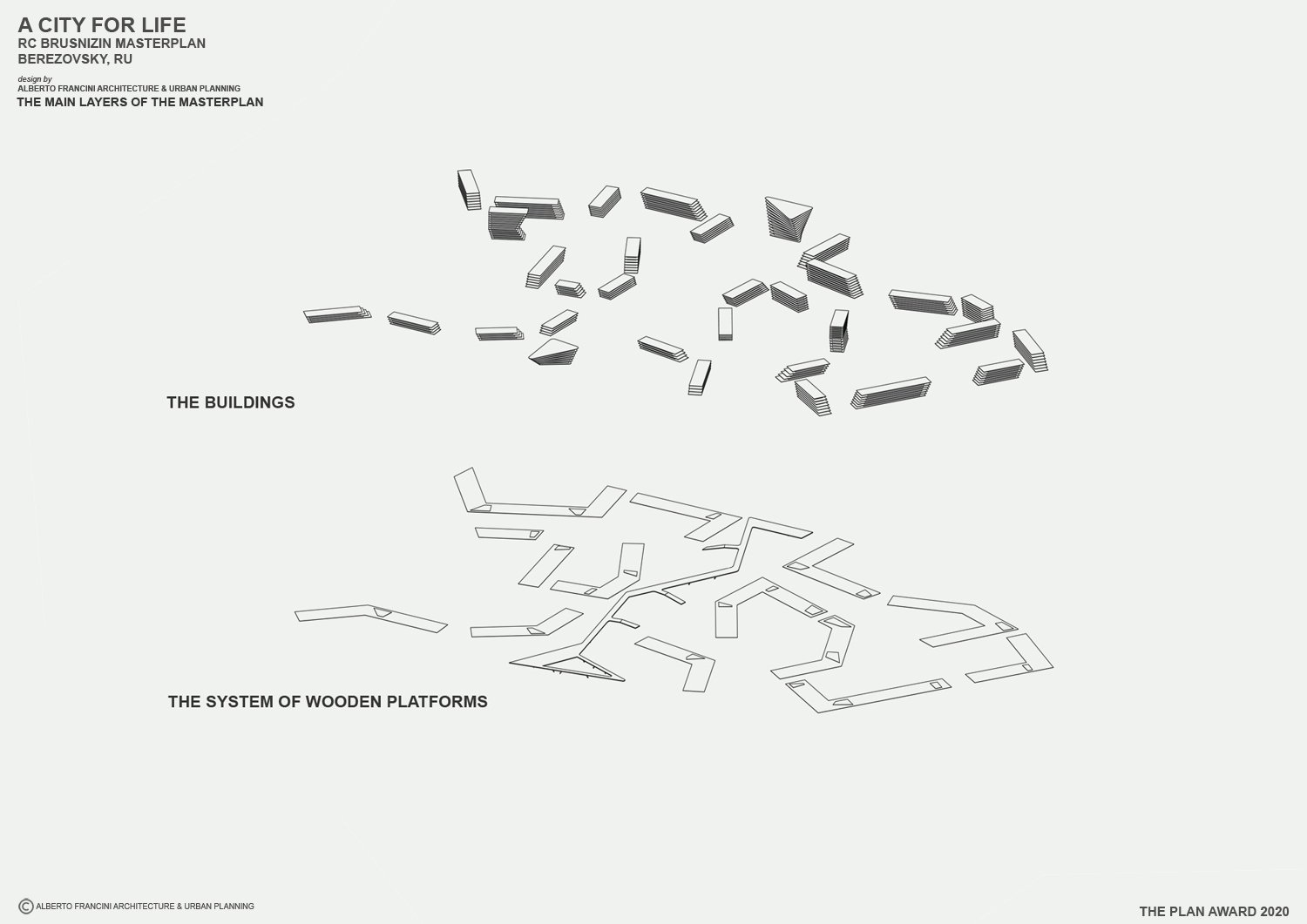 THE MAIN LAYER OF THE MASTERPLAN 3 ALBERTO FRANCINI ARCHITECTURE & URBANPLANNING}