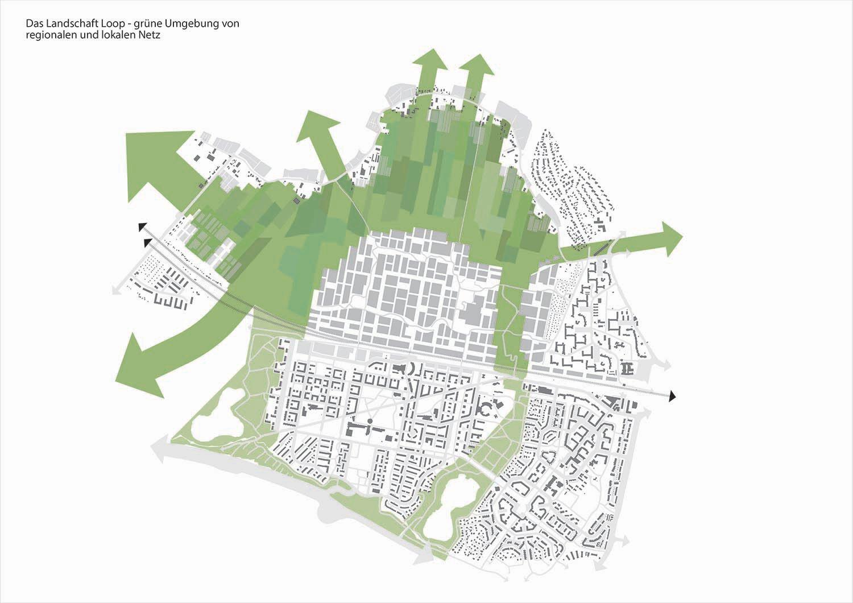 The Connected City - Green loop © ADEPT KARRES+BRANDS}