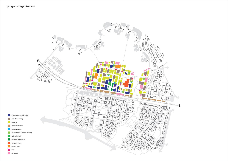 The Connected City - Mosaic of neighbourhoods © ADEPT KARRES+BRANDS}
