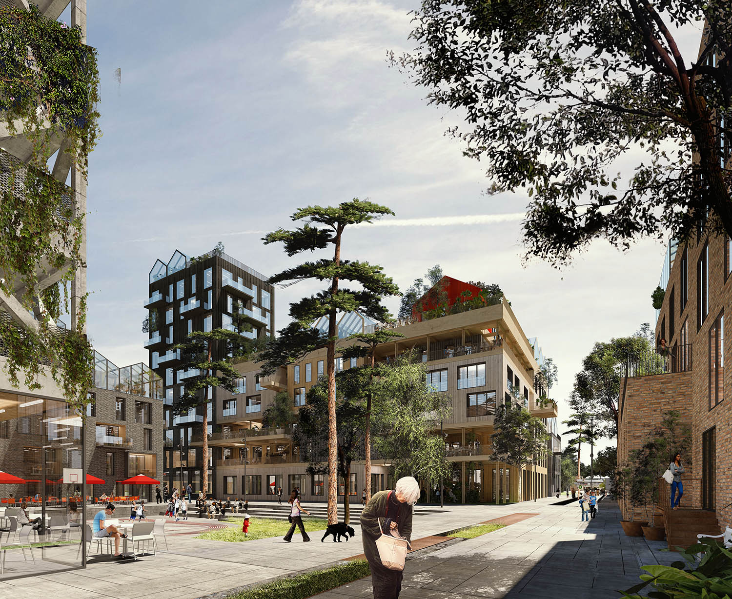 The Connected City - Urban Living © ADEPT KARRES+BRANDS