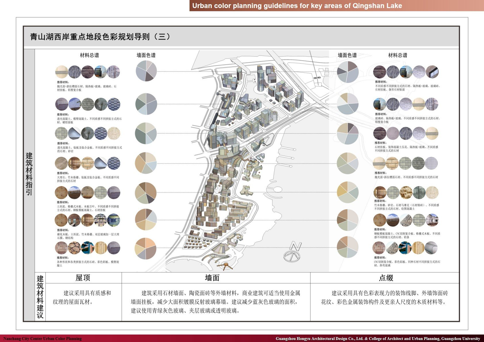 Urban color planning guidelines for key areas of Qingshan Lake Guangzhou Hongyu Architectural Design Co., Ltd. & College of Architect and Urban Planning, Guangzhou University
