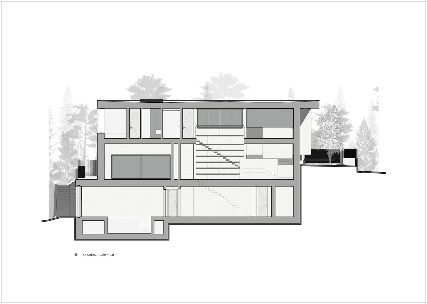 section X-X Rodolphe Mertens Architects}
