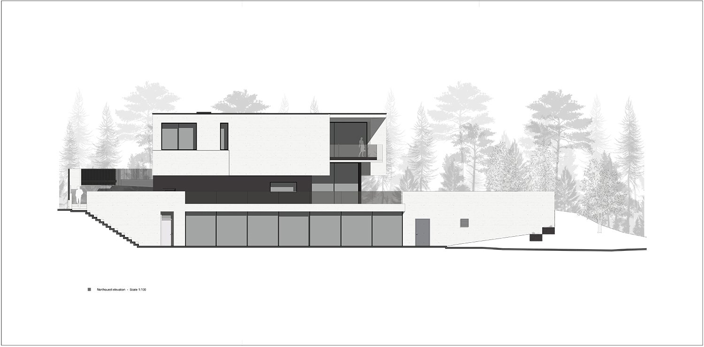 northwest facade Rodolphe Mertens Architects}