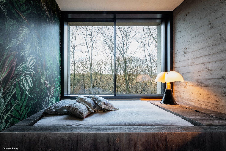 detail of bedroom Vincent Remy}