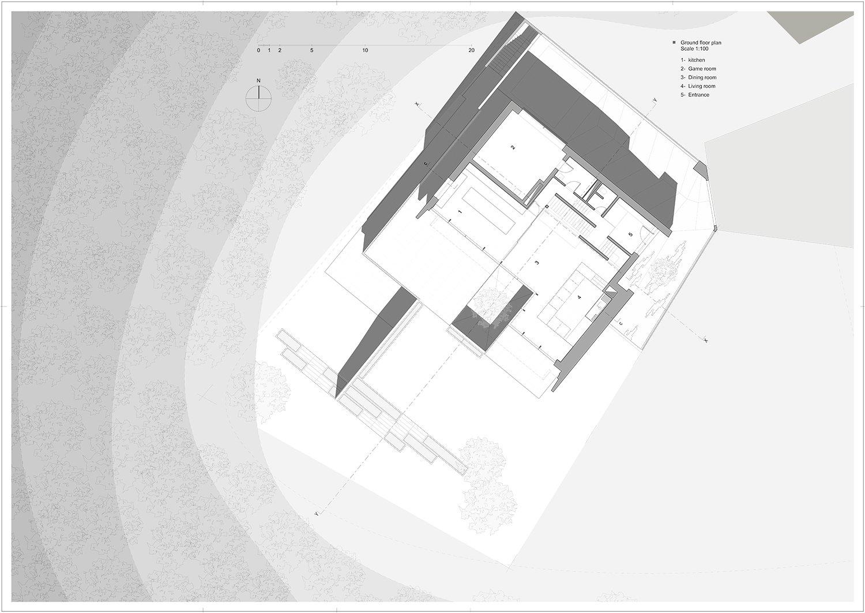 ground floor Rodolphe Mertens Architects}