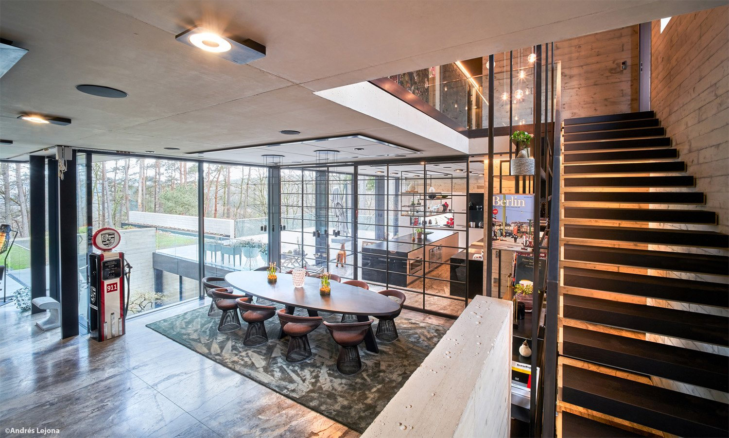 view of dining and kitchen areas Andrés Lejona