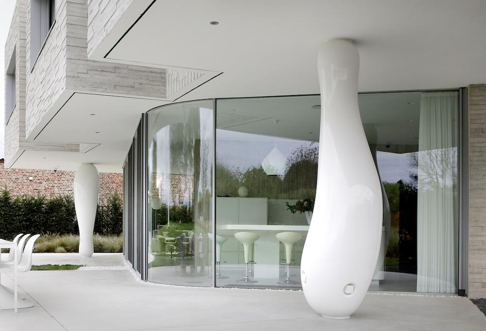 Exterior Curvilinear Glass Filip Dujardin