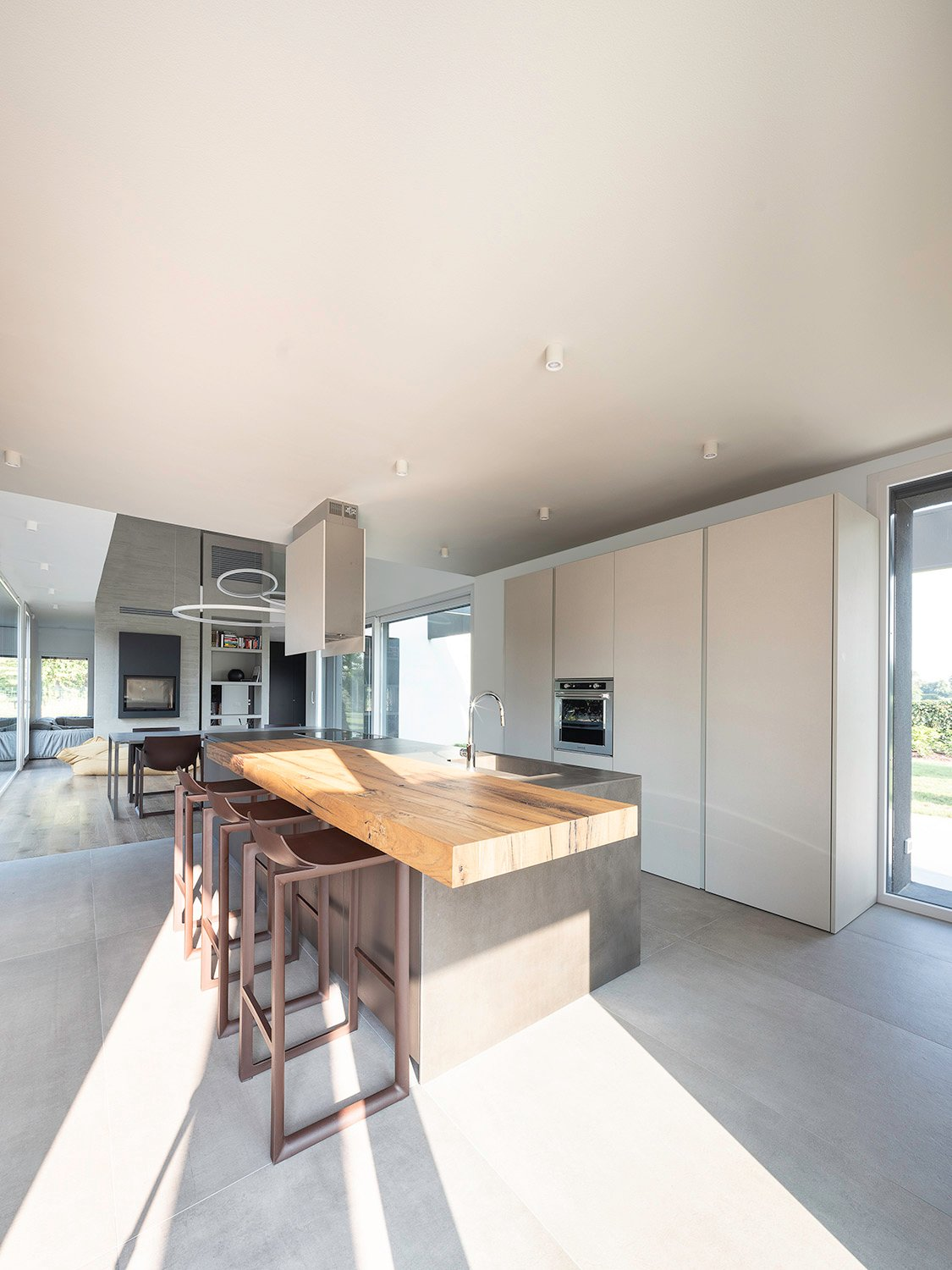 Indoor south west corner: Open Kitchen Filippo Poli Photography