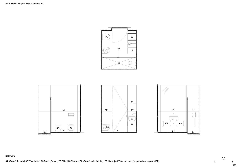 Bathroom Raulino Silva Architect}