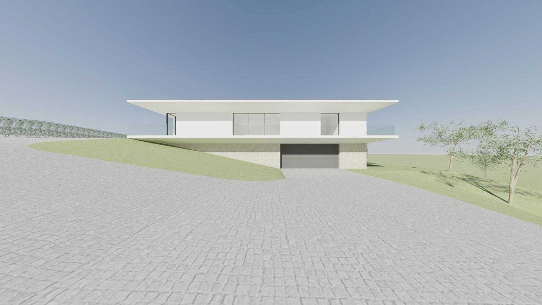North Elevation Raulino Silva Architect