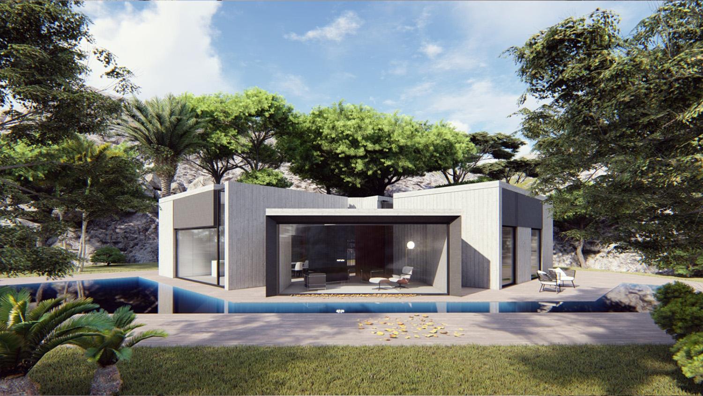 VISTA FRONTALE MODUSLAB ARCHITECTURE INTERIOR DESIGN