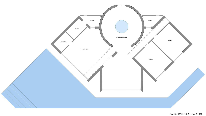 PLANIMETRIA DI PROGETTO MODUSLAB ARCHITECTURE INTERIOR DESIGN}