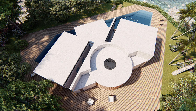 VISTA DALL'ALTO MODUSLAB ARCHITECTURE INTERIOR DESIGN