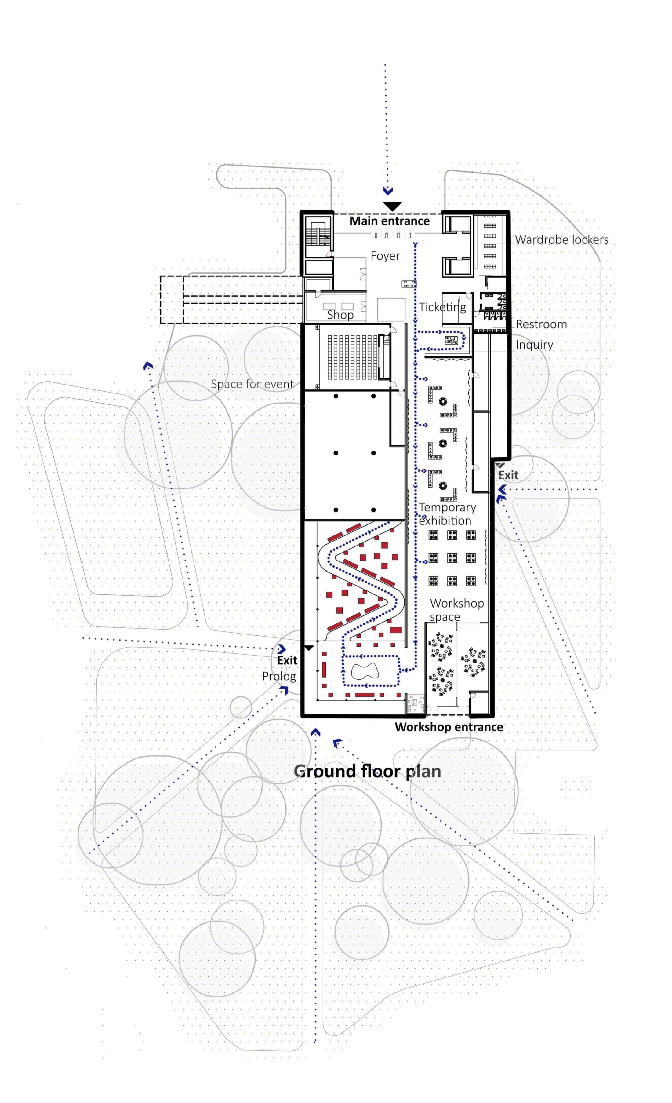 ground floor plan Wall Corporation}