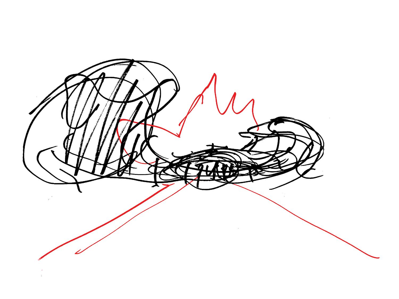 Sketch Courtesy of Diller Scofidio + Renfro}