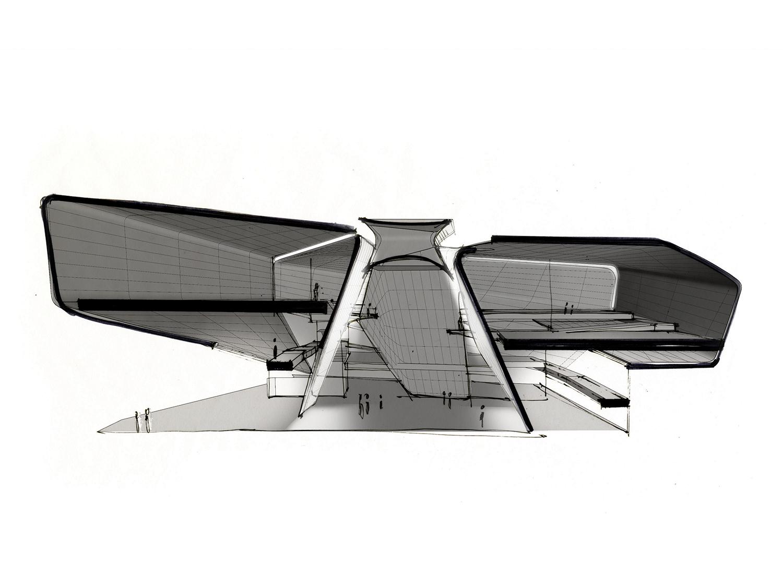 Atrium Diagram Courtesy of Diller Scofidio + Renfro}