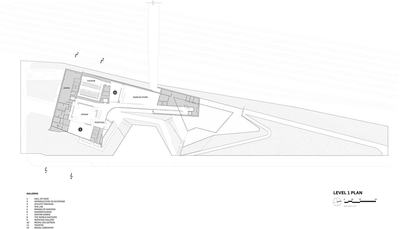 Level 1 Plan Courtesy of Diller Scofidio + Renfro}