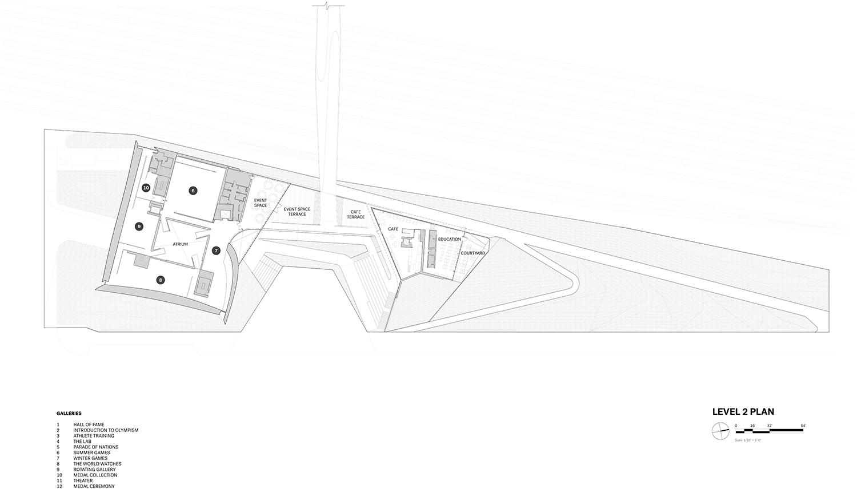 Level 2 Plan Courtesy of Diller Scofidio + Renfro}