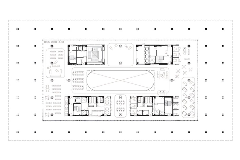 2nd Floor Plan Mecanoo}