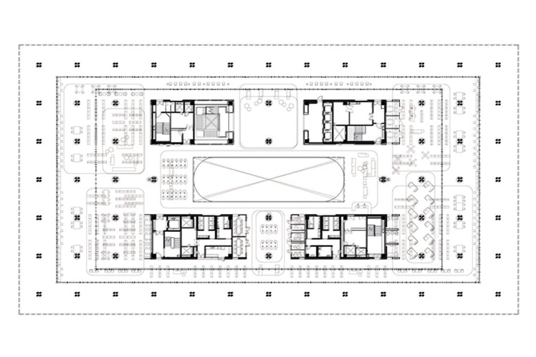 3rd Floor Plan Mecanoo}