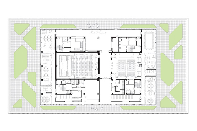 6th Floor Plan Mecanoo}