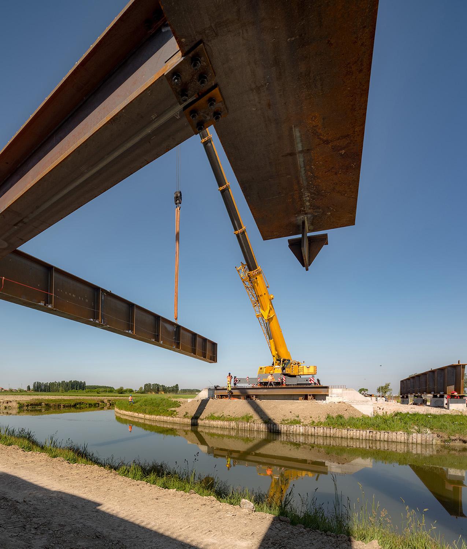 Launch of the bridge Marco Zanta
