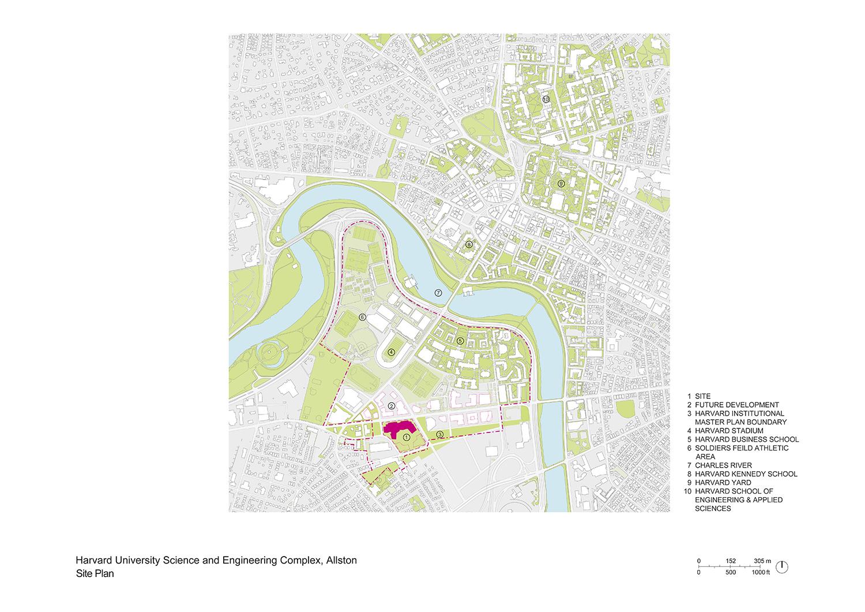Site Plan Behnisch Architekten}