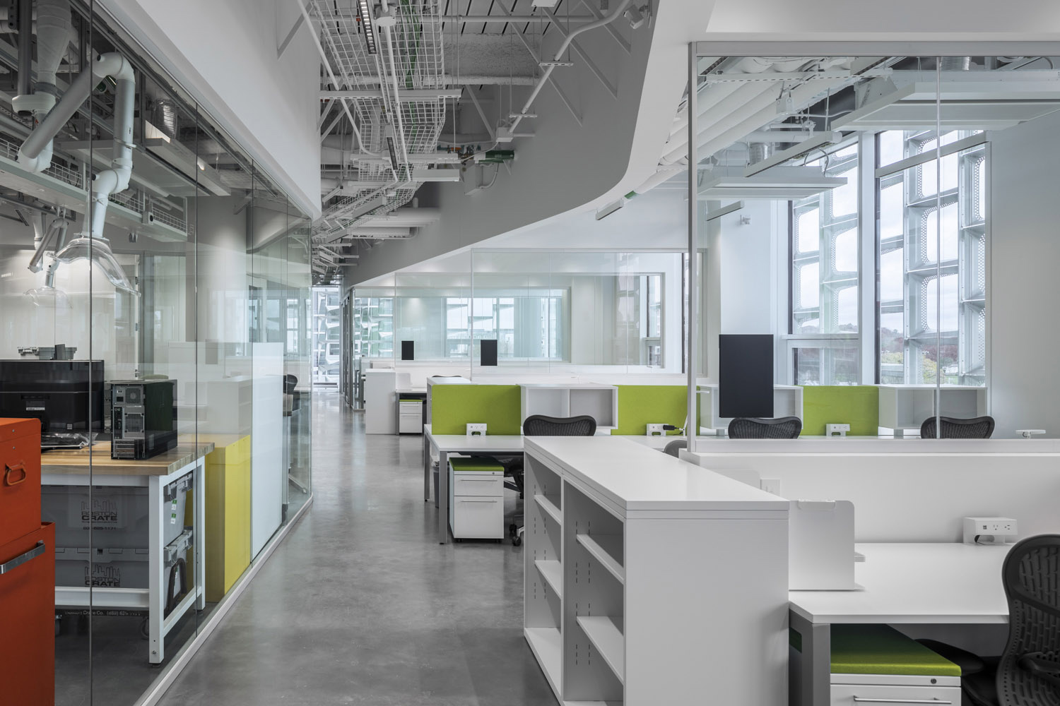 Modular, flexible laboratory environments and smart zoning of highly ventilated zones from dry space, ensure the future adaptability and continued use of laboratory space for decades to come. Brad Feinknopf