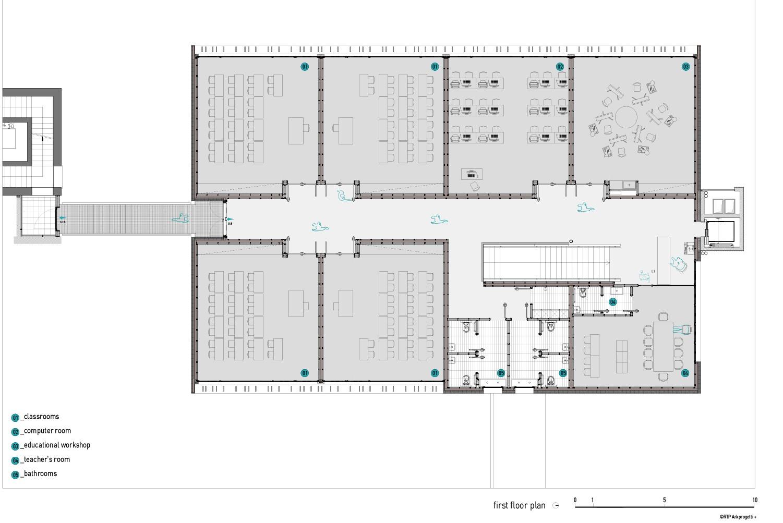 first floor plan RTP ARKPROGETTI+}