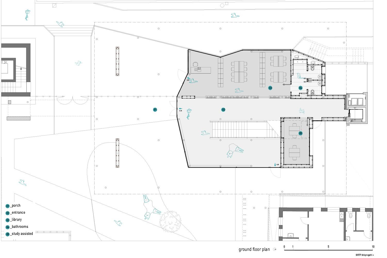 ground floor plan RTP ARKPROGETTI+}