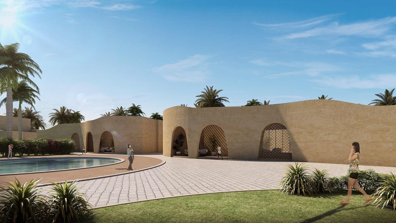 VIEW OF THE VILLA SANJAY PURI ARCHITECTS