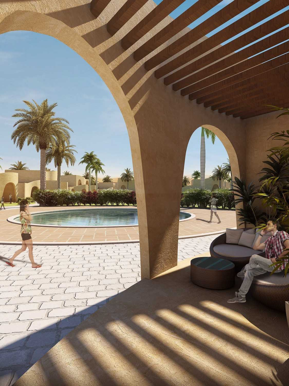 VIEW OF THE ROOM DECK SANJAY PURI ARCHITECTS