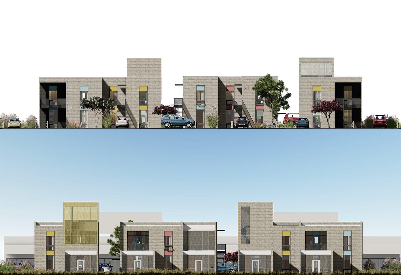 entry and porch elevations University of Arkansas Community Design Center