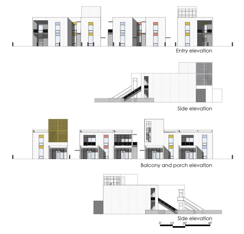 elevations University of Arkansas Community Design Center