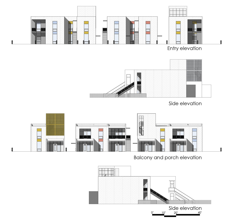 elevations University of Arkansas Community Design Center}