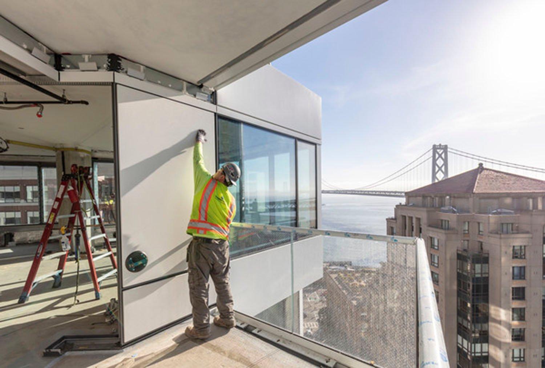 MIRA Balcony Construction (c) Jason O'Rear}