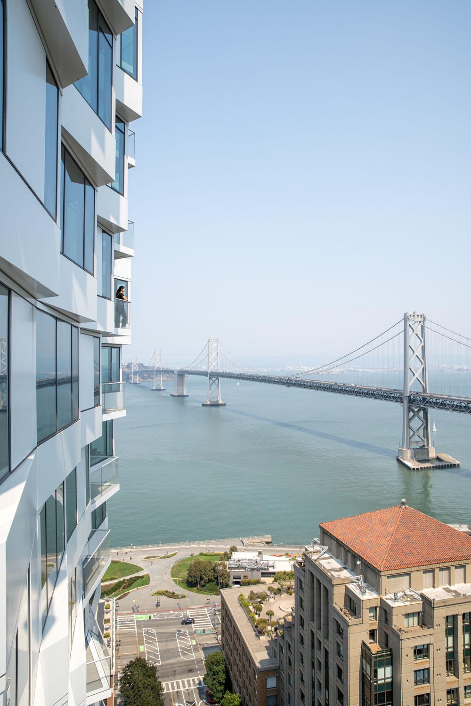 View of bay bridge from balcony (c) Jason O'Rear