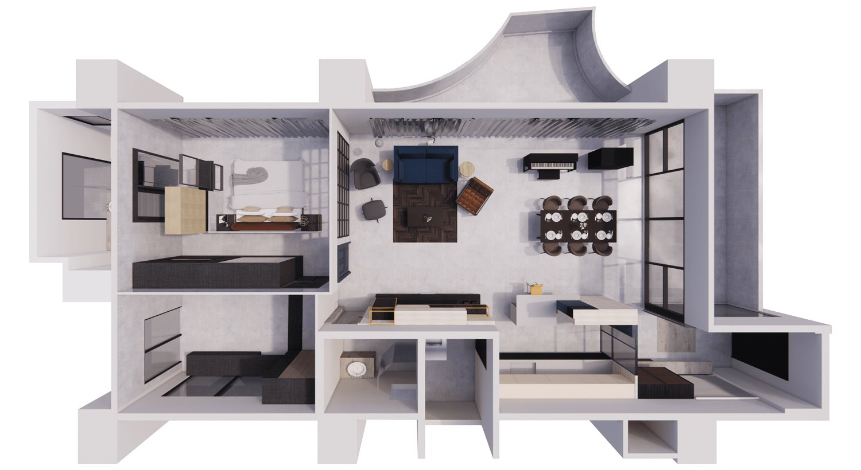 plan SOHO Interior Design CO. LTD}