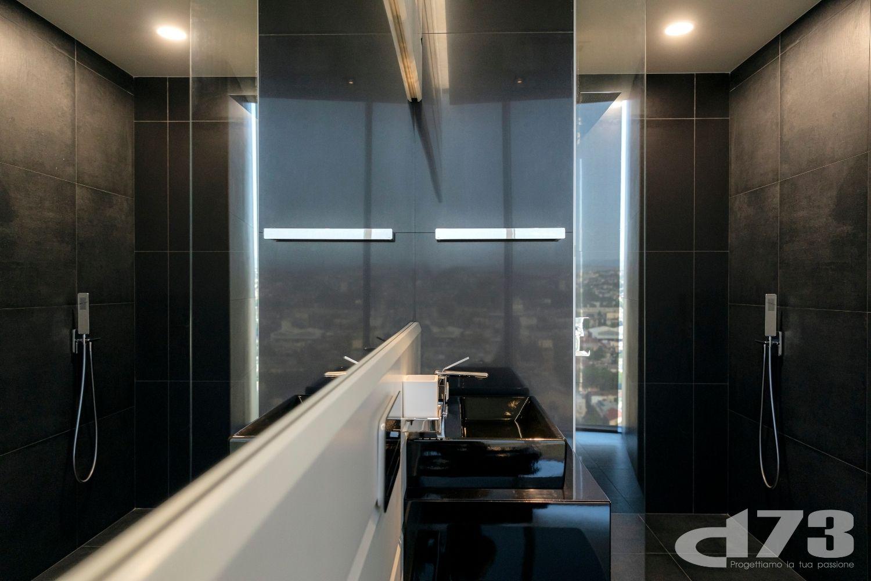 Tbilisi mirrored in the toilet's elements. Louisa Chalatashvili