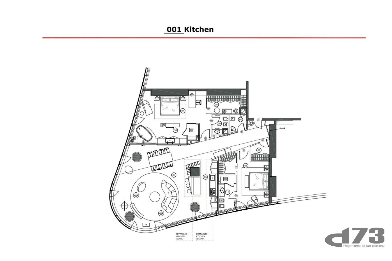 Pkhakadze's apartment general plan. Studio D73}