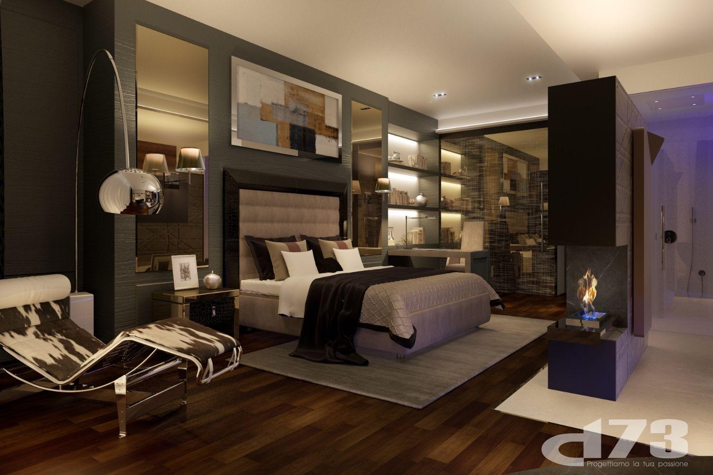 Master bedroom render. Studio D73}