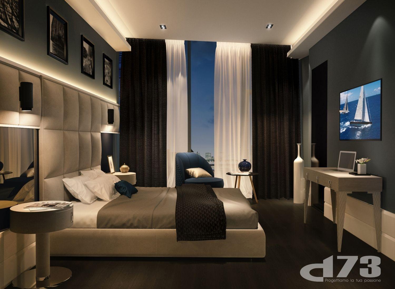 Details of the master bedroom. Studio D73}