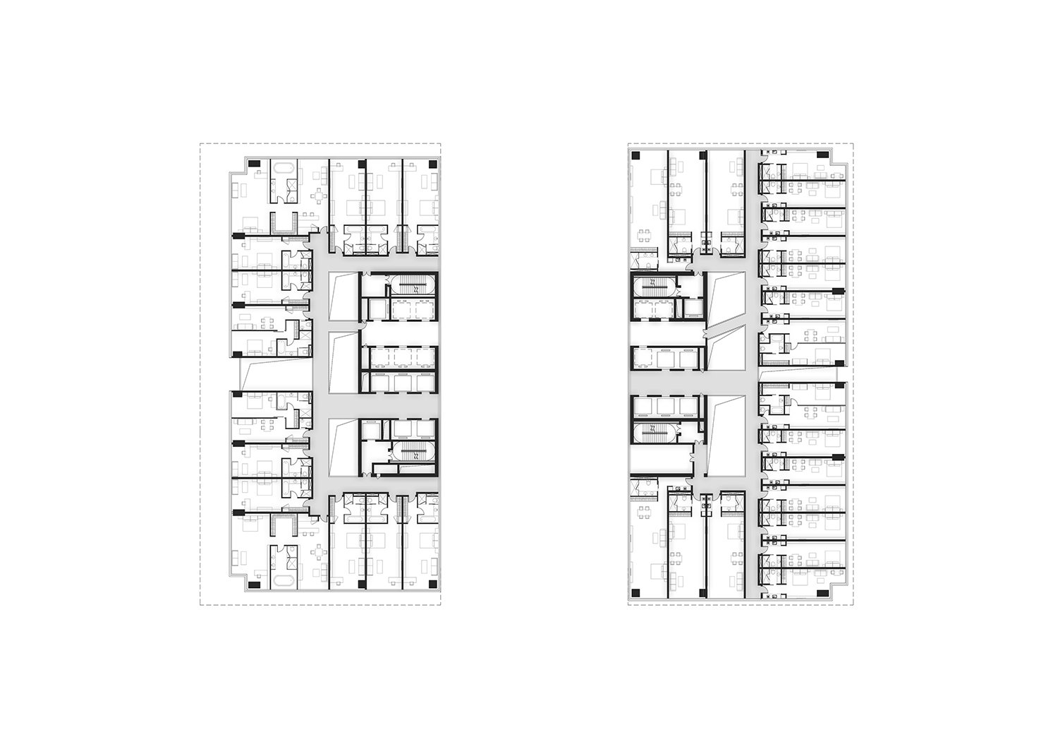 Hotel Floor Plan All renderings and drawings © Rocco Design Architects}