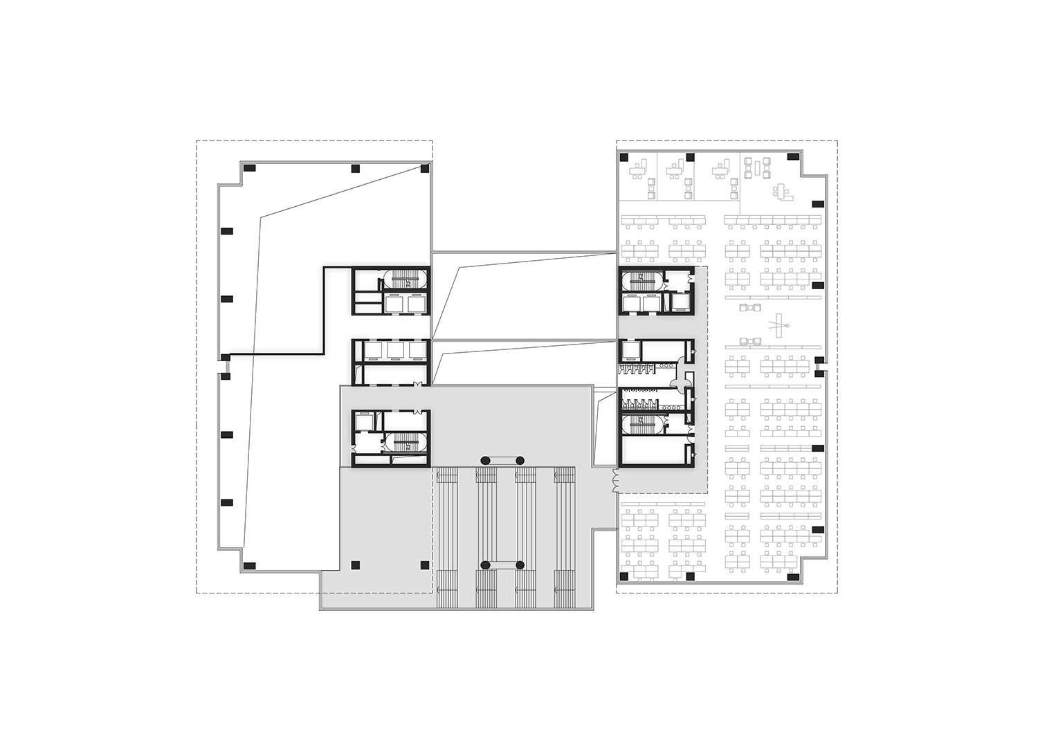 Offices Floor Plan All renderings and drawings © Rocco Design Architects}