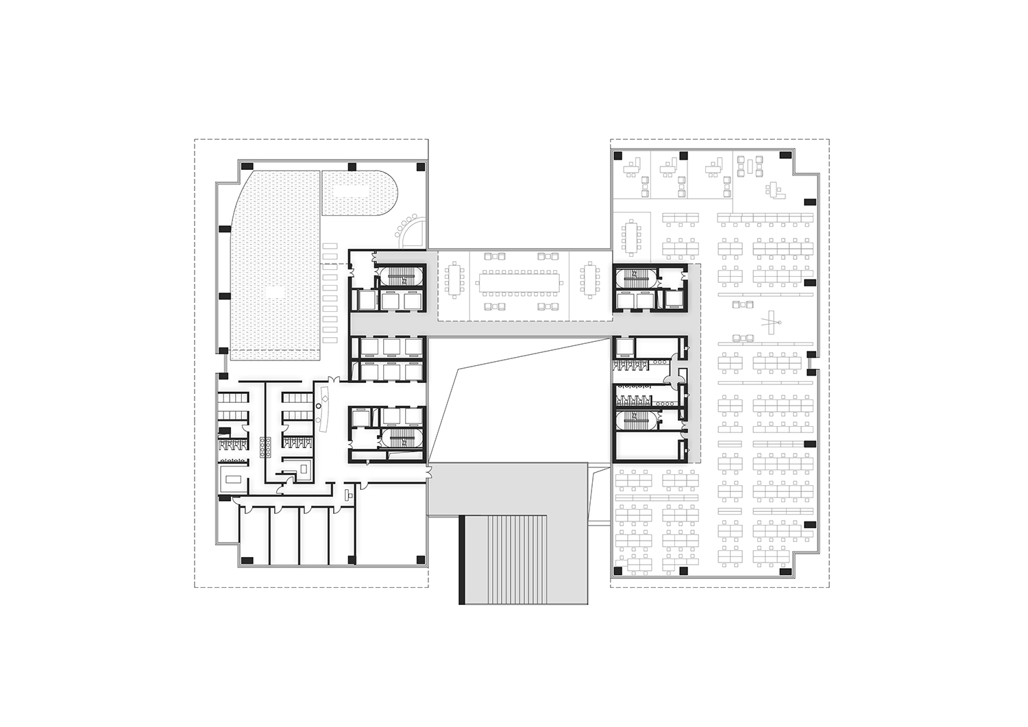 Recreation Floor Plan All renderings and drawings © Rocco Design Architects}