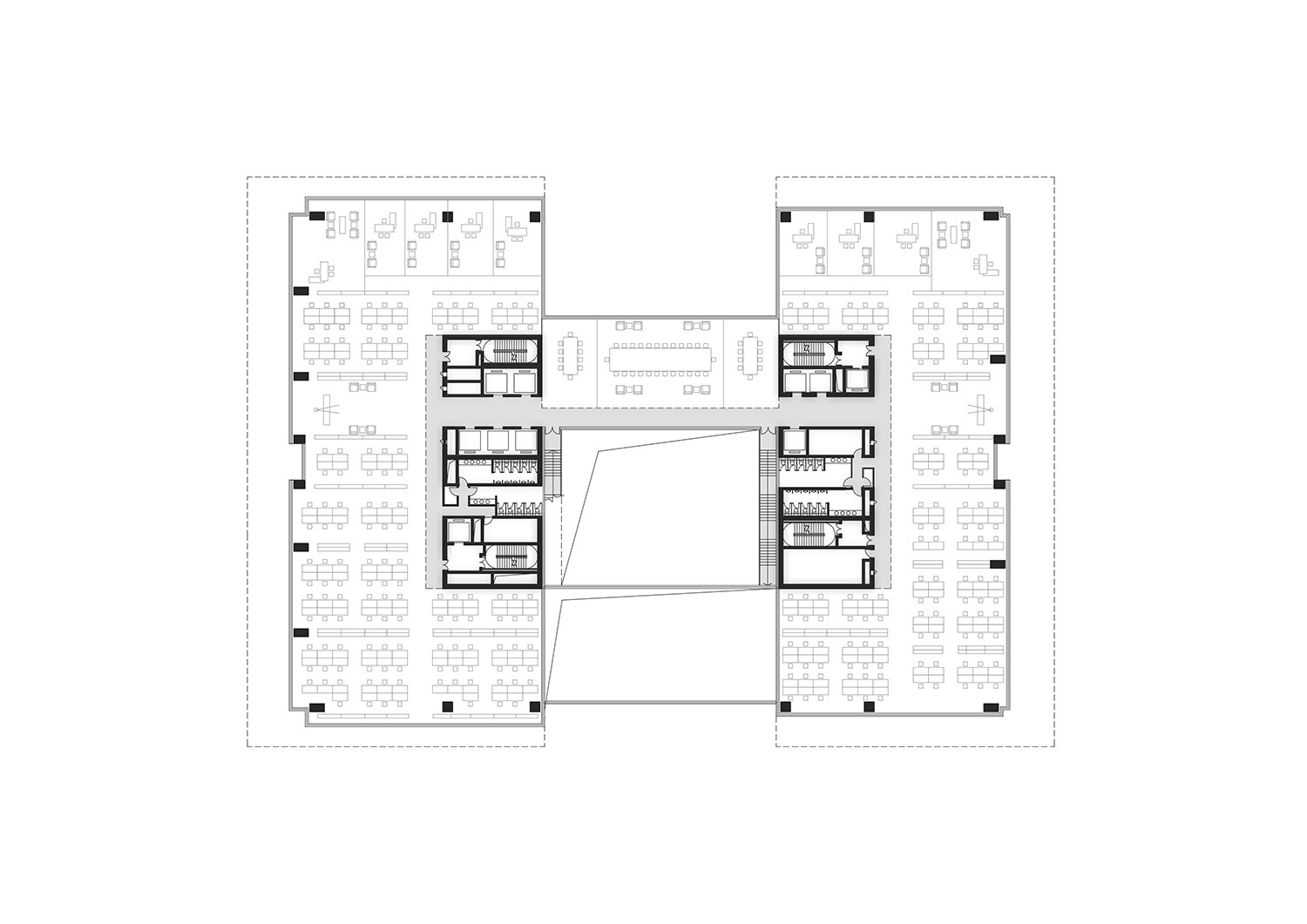 Typical Floor Plan_01 All renderings and drawings © Rocco Design Architects}