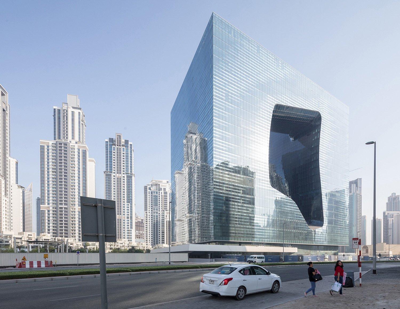 Opus in Dubai by Zaha Hadid Architects Photo by Laurian Ghinitoiu