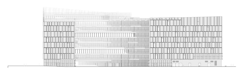 South Elevation © Henning Larsen Architects}