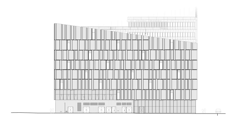East Elevation © Henning Larsen Architects}